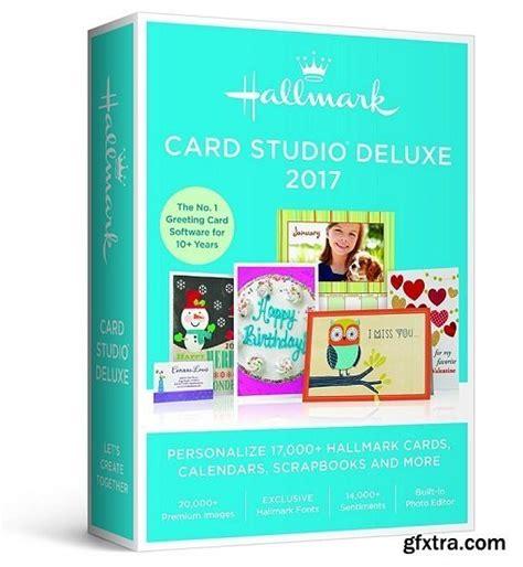 hallmark card studio templates hallmark card studio 2017 deluxe 18 0 0 14 bonus card