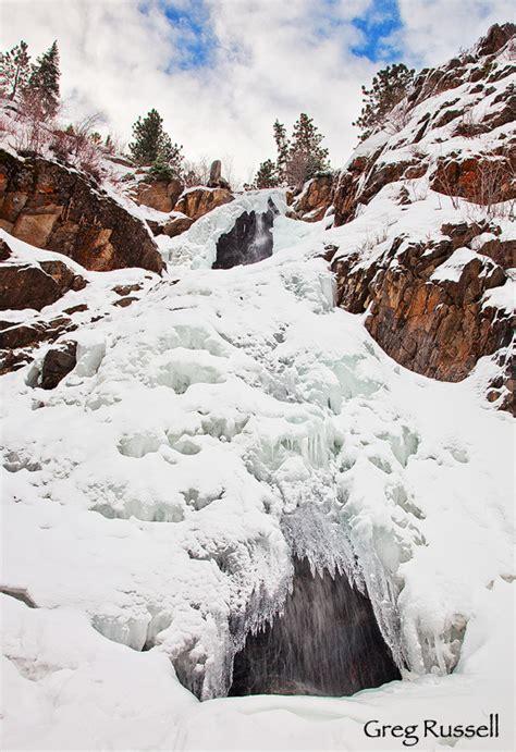 garden creek falls casper wy photographs of wyoming by greg