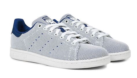 Sepatu Sneakers Adidas Originals Stan Smith Blue adidas originals stan smith mesh blue sale 59 99 soleracks