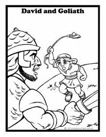 david and goliath coloring page samuel coloring pages
