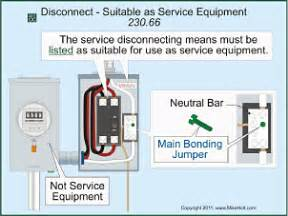 updated requirements for services and overcurrent protection electrical construction