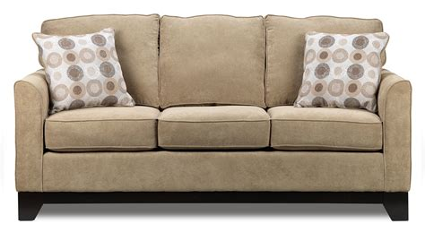 sand castle sofa light brown leon s