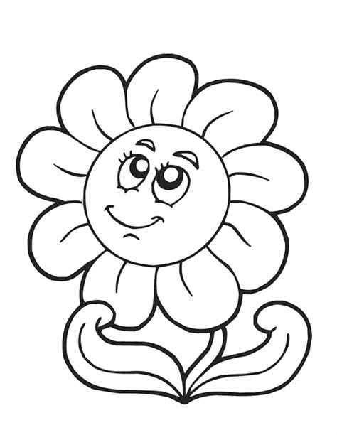 Printable Springtime Flowers | springtime coloring sheets