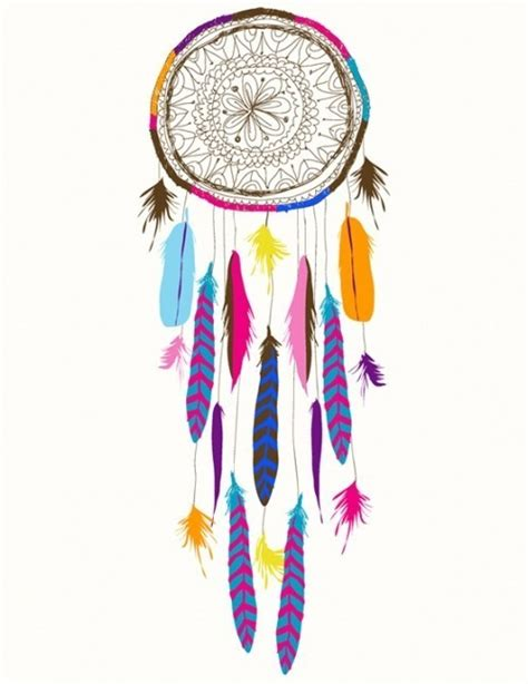 dreamcatcher feathers drawing dreamcatcher feathers image 421706 on favim