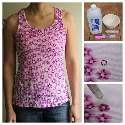 Painting T Shirts With Sharpies by 15 Items That Can Be Improved Using Just Sharpies Part 1