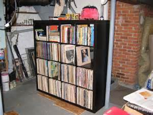 ikea expedit with records ikea expidit pinterest