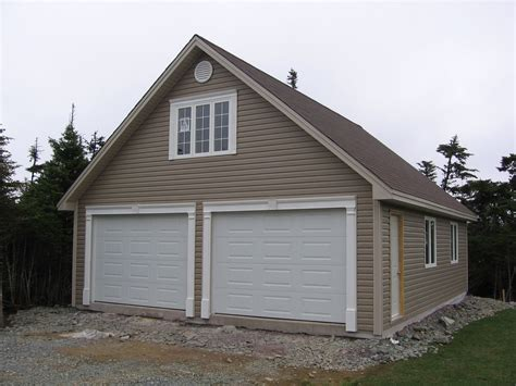 garage with loft garages