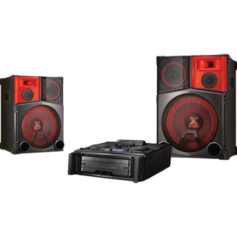 lg cm9950 mini shelf top audio system with dj pro
