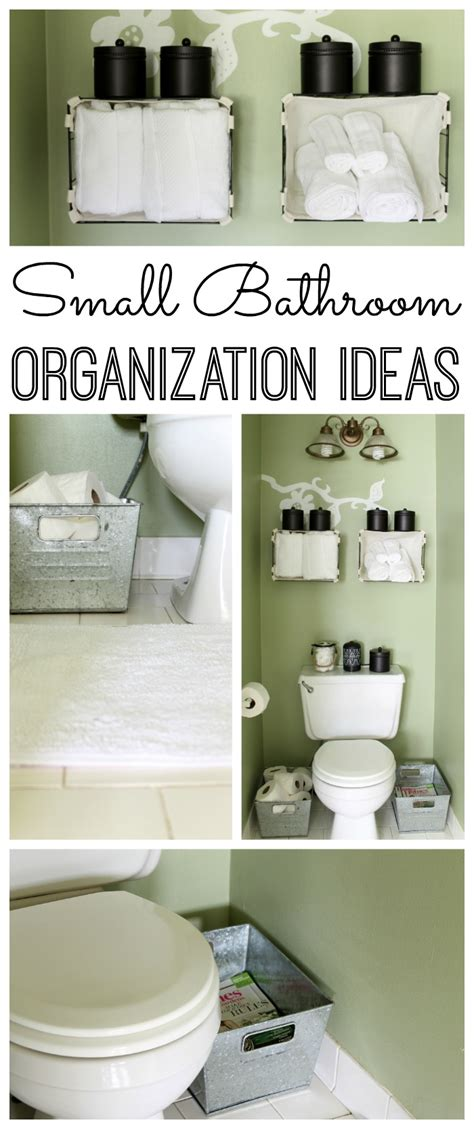 small bathroom organization ideas organization archives the country chic cottage