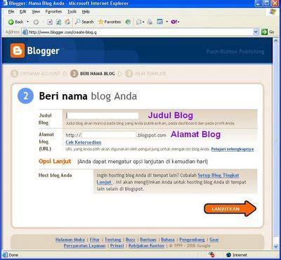 membuat nama blog yang tepat blog saya akses internet