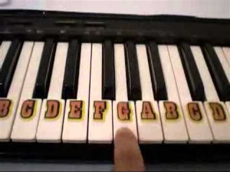 michael row the boat piano how to play michael row the boat ashore on piano easy for
