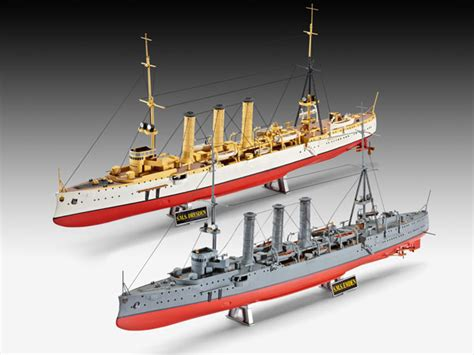 1a möbel revell sms dresden and sms emden 1 350 scale modelling now