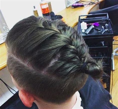plait at back of head hairstyle 100 shaved head braid in back of head get 20 faux side