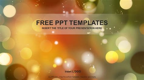 powerpoint themes light light dots abstract ppt templates