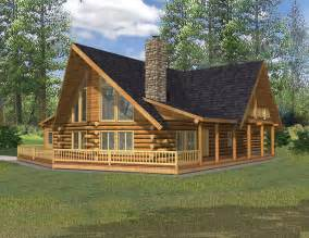 Log Cabin Home Plans 2690 Sq Ft North West Style Log Home Log Cabin Home Log