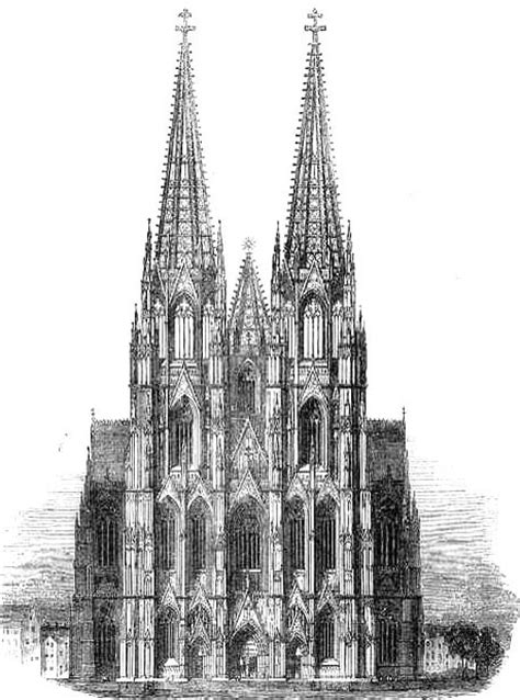 Chartres Cathedral Floor Plan by The Completion Of Cologne Cathedral