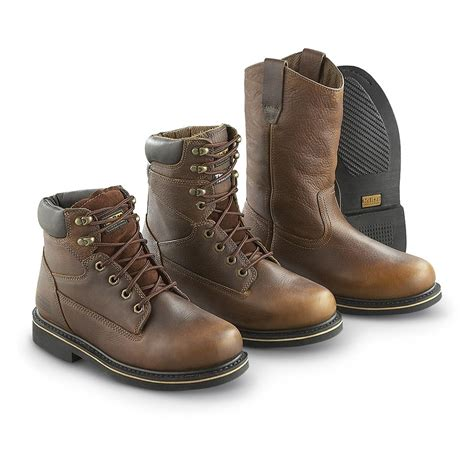 s mcrae 174 8 quot work boots brown 182232 work boots at