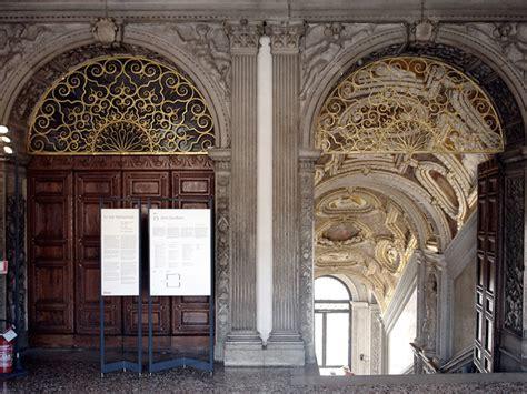 ingresso palazzo ducale venezia al via il restauro portale della scala d oro