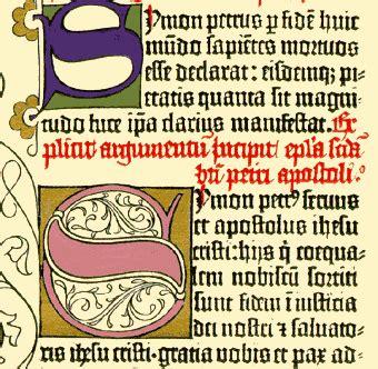 libro letras mayusculas capital letras capitulares concepto historia y uso