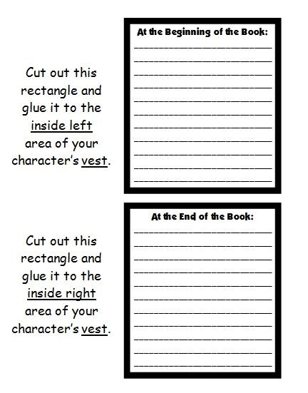 character book reports character worksheet lesupercoin printables worksheets