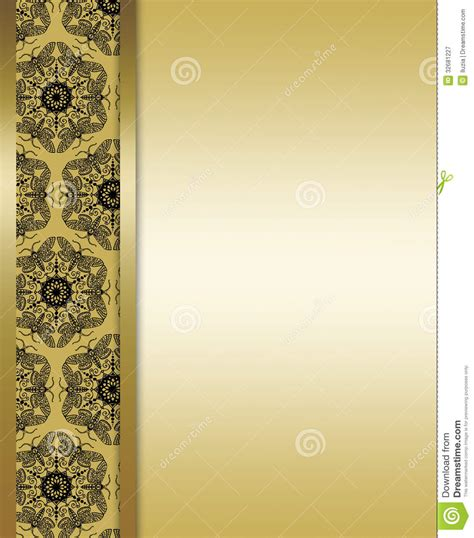 background design for layout elegant gold and brown background royalty free stock