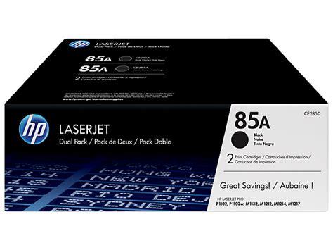 hp 85a 2 pack black original laserjet toner cartridges ce285d hp 174 official store