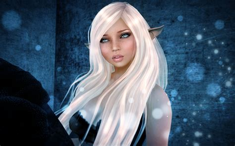 download wallpaper 2560x1600 rendering fantasy elf