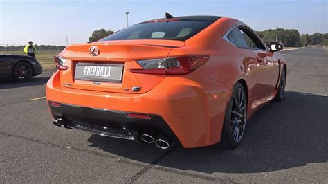 lexus rc f exhaust lexus rc f w loud exhaust system
