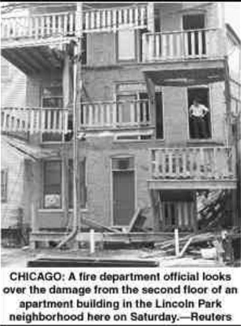 Chicago Apartment Collapse Z Paper 714 Gt The Judge Hoffman Rearrangement
