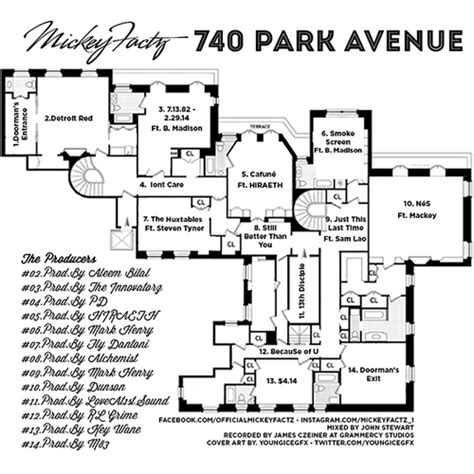 740 park avenue floor plans mickey factz 740 park ave mixtape