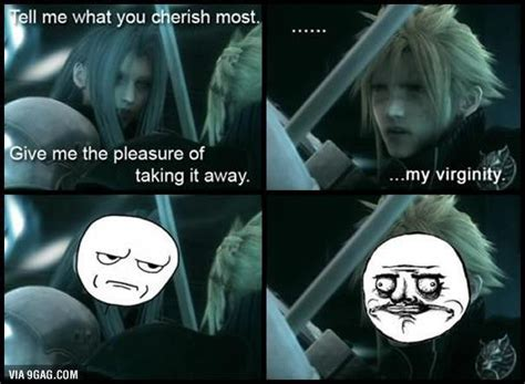 Sephiroth Meme - googled cloud vs sephiroth wasn t disappointed
