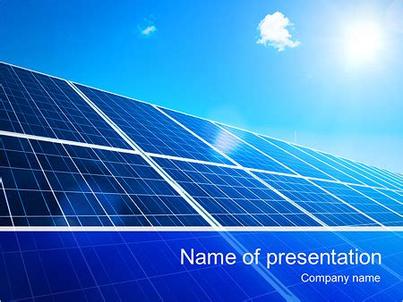 Powerpoint Templates Free Download Solar Energy Gallery Solar Energy Ppt Template Free