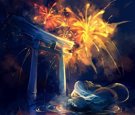 anime fireworks indonesia oounabara to wadanohara 1908696 zerochan
