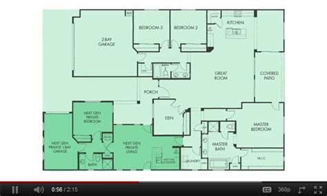 next generation house plans lennars next gen the home within a home plan coming html