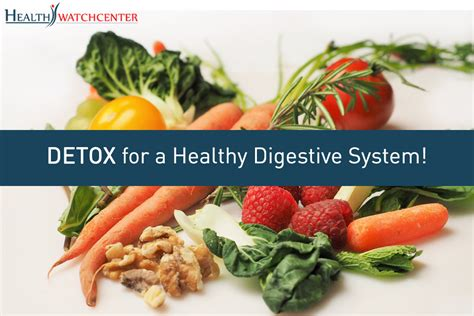 Food Detox Centers by Detox For A Healthy Digestive System