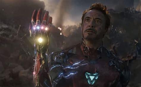 avengers endgame iron man scene released