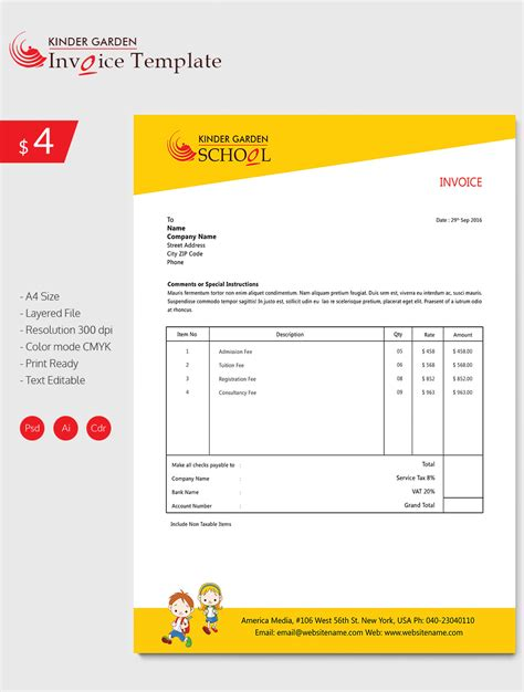 proforma invoice download proforma invoice template format free