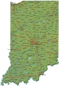 indiana map