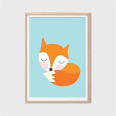 how to create a retro fox illustration in adobe illustrator astrud here comes that rainy day poster modern