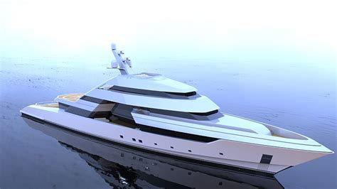 yacht design competition 2015 sharp lines reinforce flexibility and luxury to nick mezas