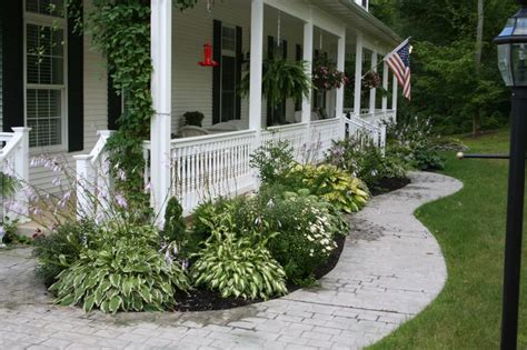 landscaping for front porch gardening pinterest