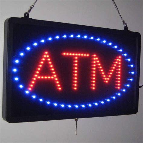 Sign Led Atm china led atm sign china led sign led atm sign