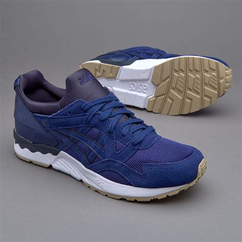 Harga Asics Gel Lyte V Blue sepatu sneakers asics tiger gel lyte v mesh leather blue print