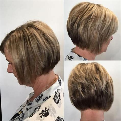 layered bobs for 50 women 80 best modern haircuts and hairstyles for women over 50