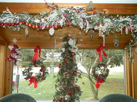 icy winter wonderland decorations christmas tree and