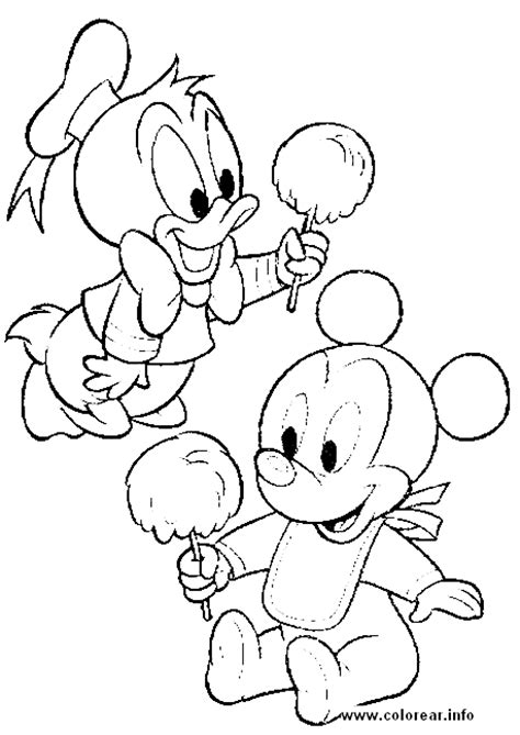 free printable coloring pages disney babies donald duck baby coloring pages to print