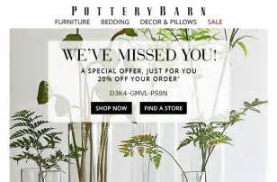 pottery barn promotion code 30 pottery barn coupon code 2017 all feb 2017 promo