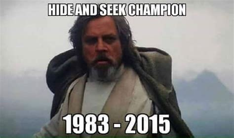 Luke Skywalker Meme - 11 of the funniest star wars the force awakens memes