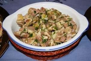 oreille de porc en salade salada de orelha de porco