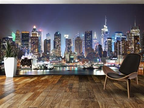skyline bedroom wallpaper 25 best ideas about new york wallpaper on pinterest nyc